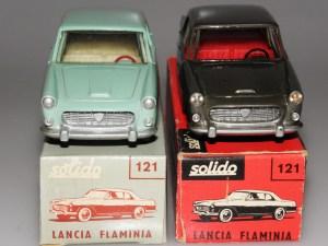 Solido Lancia Flaminia avec phares strass et phares moulés