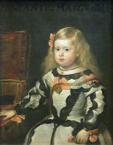 "Diego Velasquez ""L'infante Marie Marguerite"""