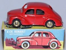 CIJ Renault 4cv '49 mécanique avec jantes en laiton