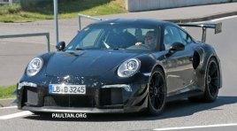 Spyshot: Porsche 911 GT2 RS raast over de Nürburgring