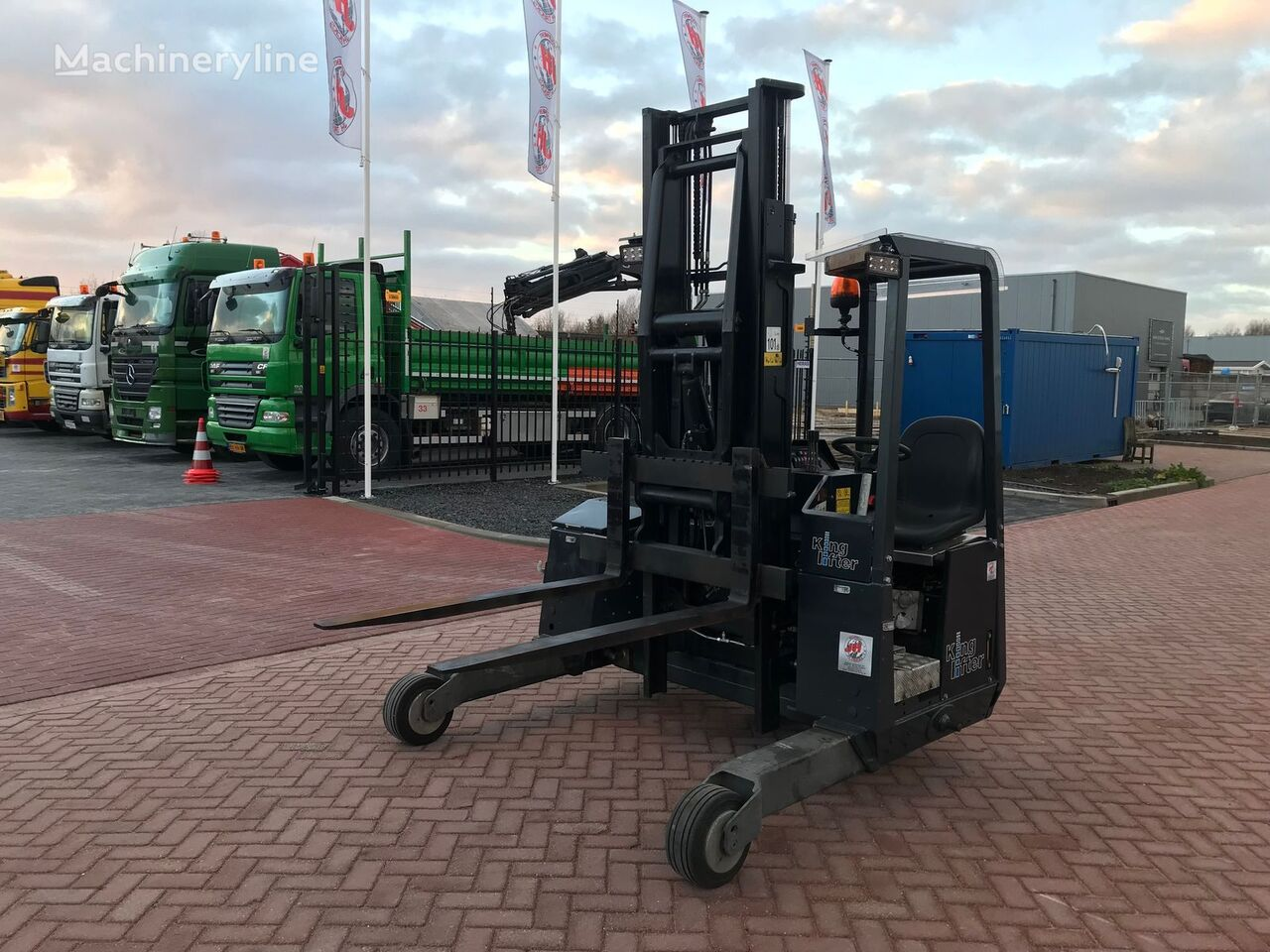 M&c Cilinder Terberg Tkl Mc 1x3 Truck Mounted Forklifts For Sale Portable