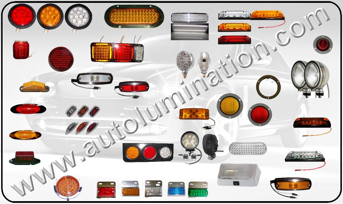 Led Lights For Trucks Automotive Car Truck Light Bulb Connectors Sockets Wiring