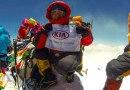 Kia presente en la cima del Everest con Carla Pérez