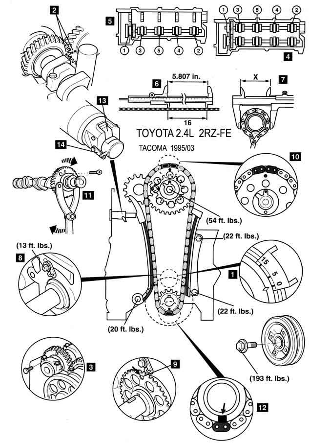 1988 toyota 3 0 Diagrama del motor