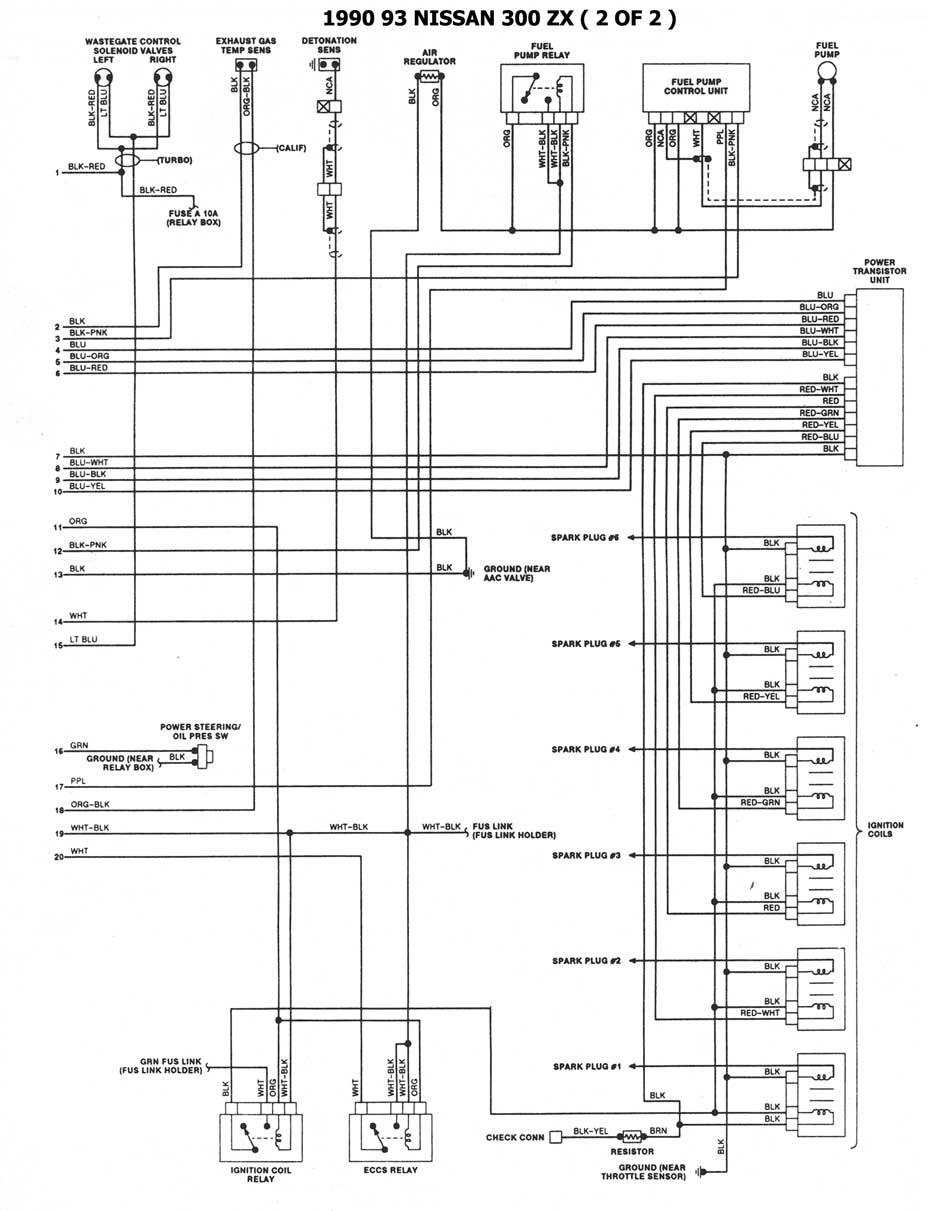 de diagrama de nissan 240sx 90