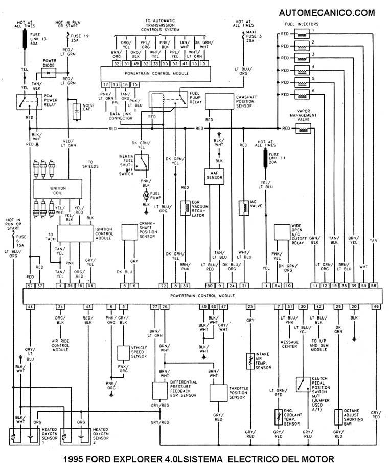 1996 ford f700 diagrama de cableado