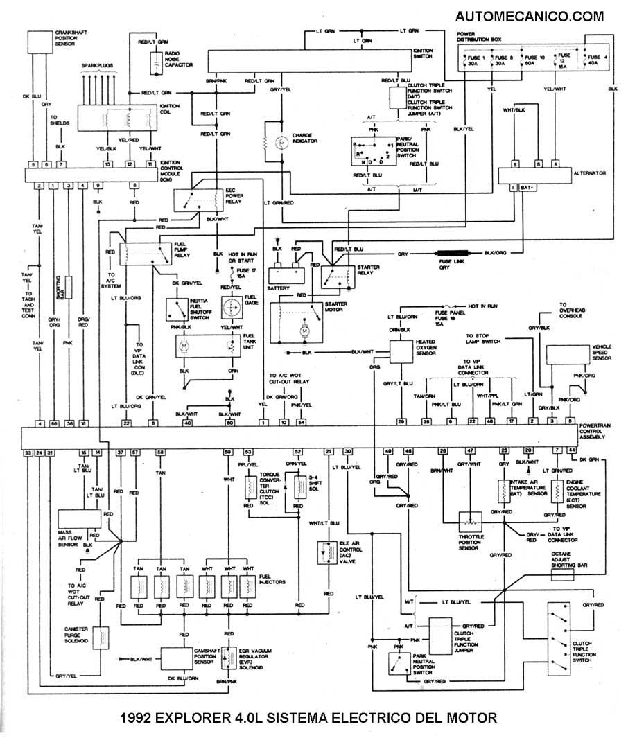 ford 6 0l Diagrama del motor