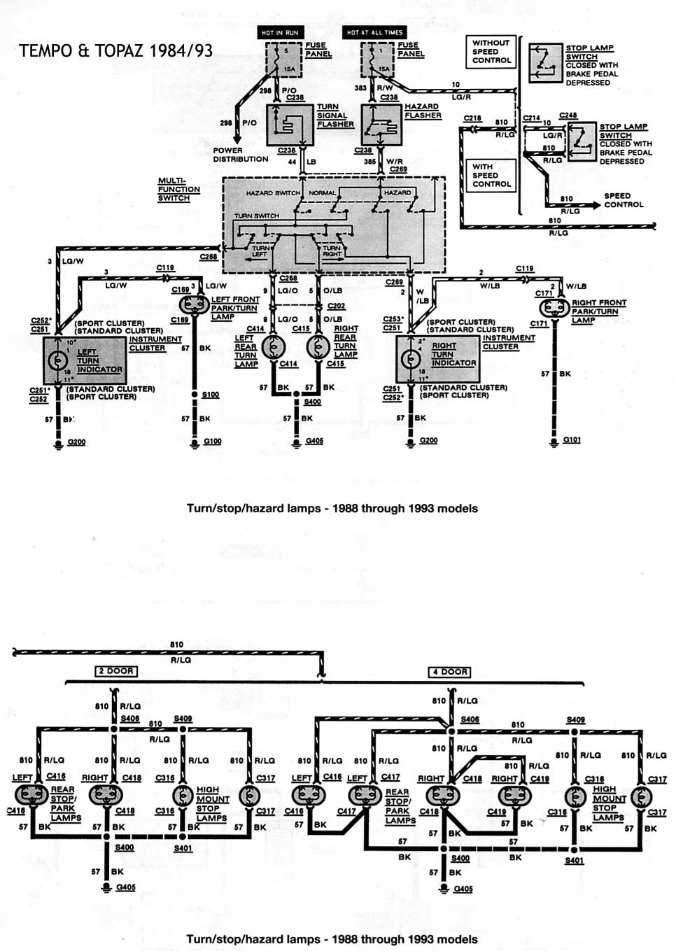 1988 ford ranger Diagrama del motor