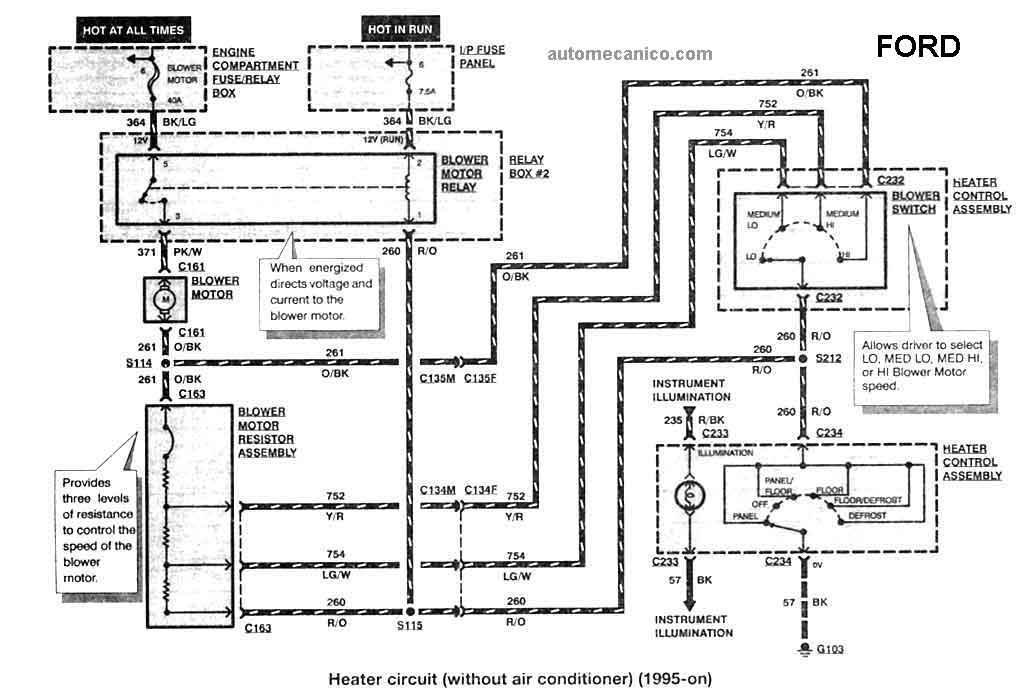 wiring diagram ford ranger 1993 espa ol