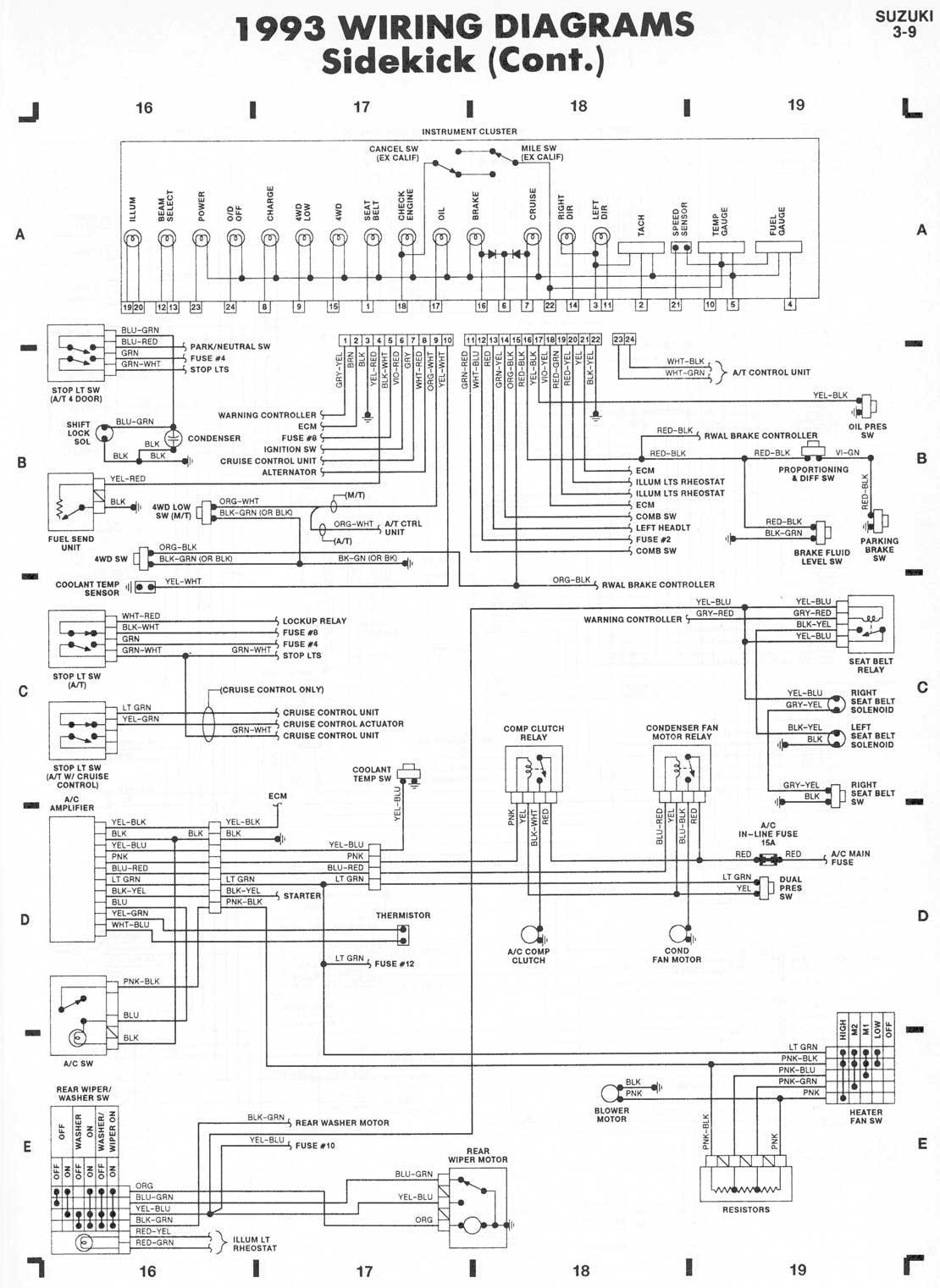 1993 mazda rx7 wiring diagram