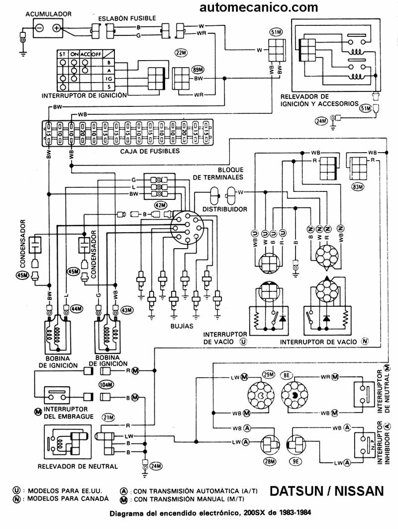 2006 Pt Cruiser Radio Wiring Diagram Diagramas Encendido Electronico Nissan