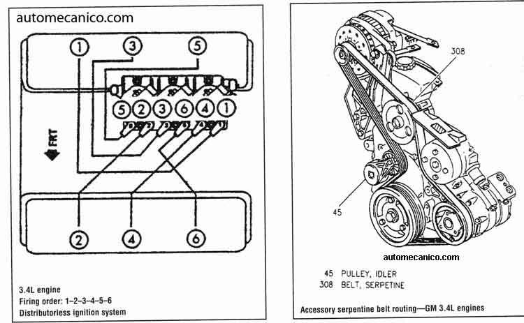 1998 chevy venture van diagrama de cableado