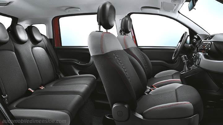 Smart Forfour Interieur Fiat Panda 2016 Dimensions, Boot Space And Interior