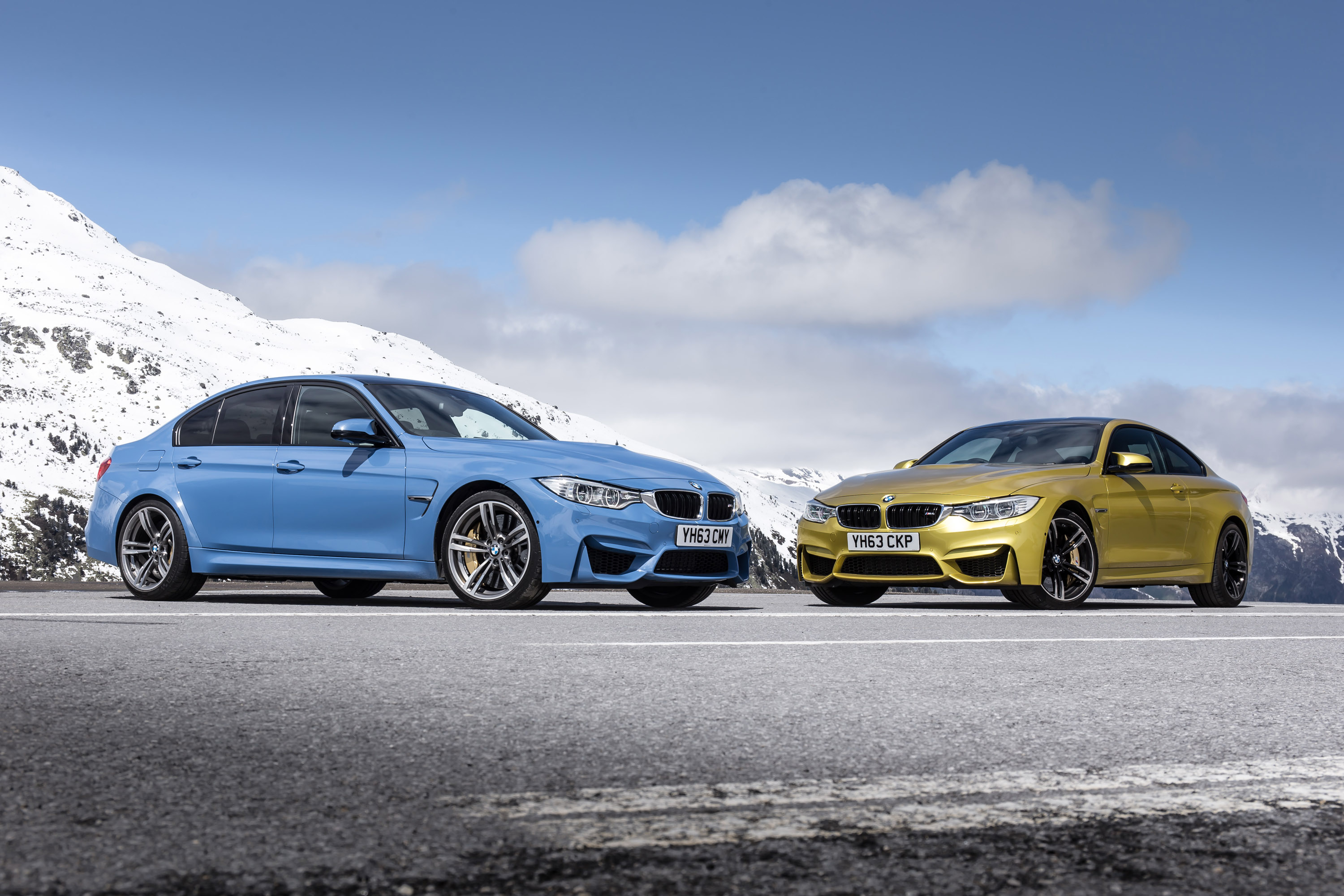 Bmw Salon 2014 Bmw M3 Saloon And M4 Coupe Uk Price