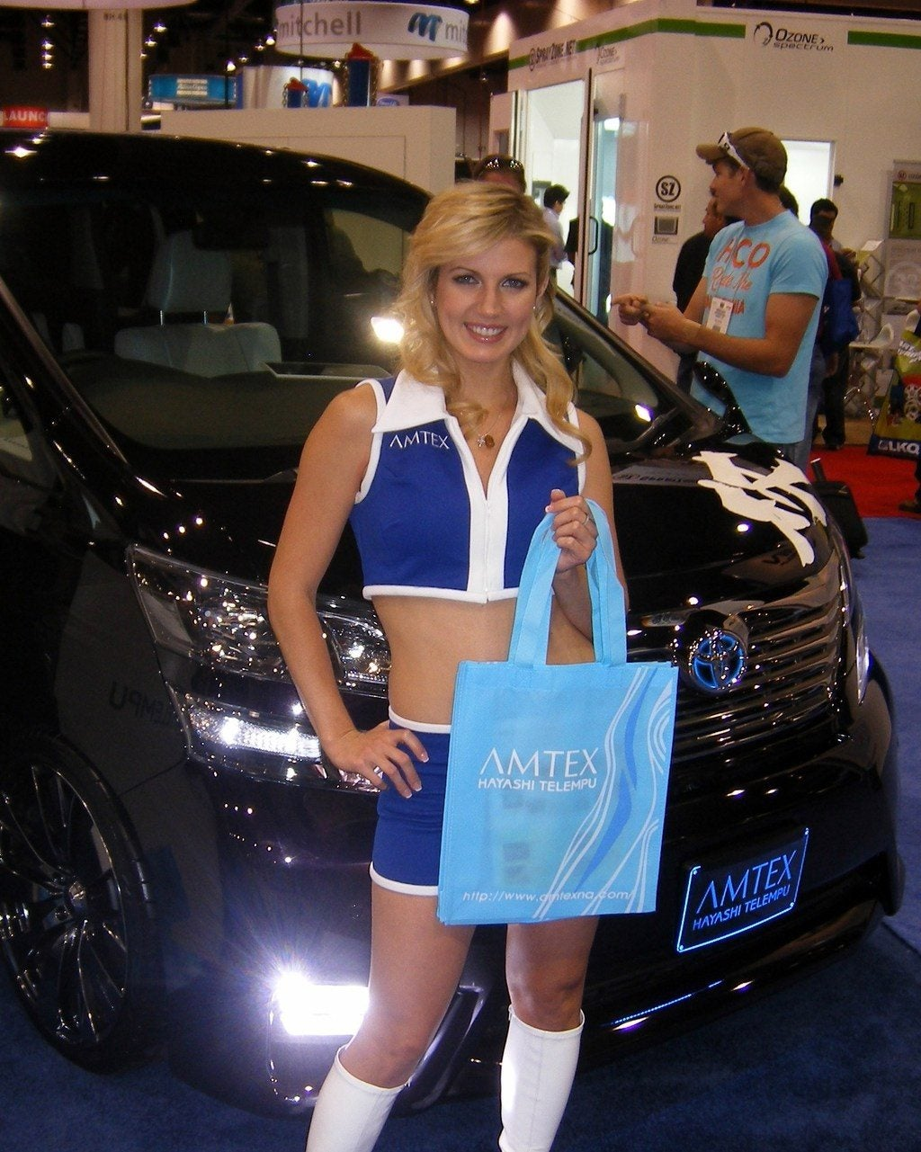 Safety Autonomous Car Sema 2011 Booth Babes 64 Photo On Automoblog