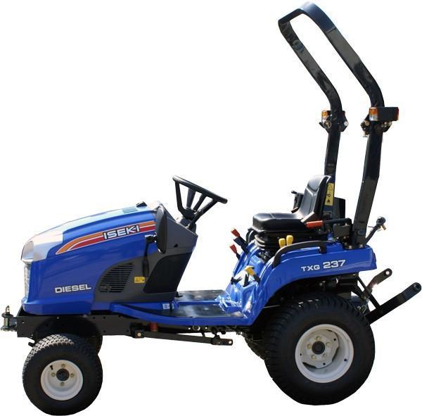 Iseki Txg237 Tractor Operation Maintenance Service Manual Download