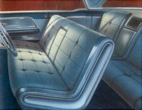 1969 lincoln town car interiors
