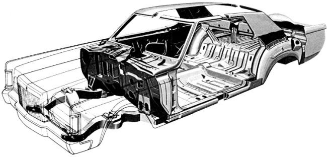 1970 lincoln mark iii specs