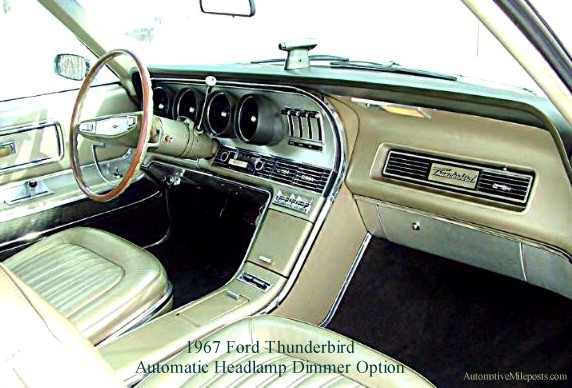 Rare Option Ford Thunderbird Autolamp and Automatic Headlamp Dimmer