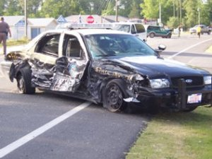 Highway Patrol Crash
