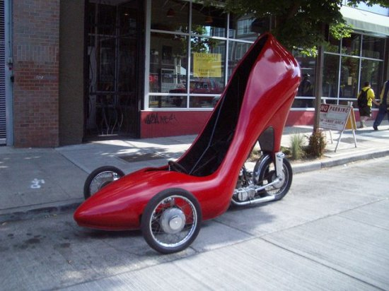 Stiletto Car