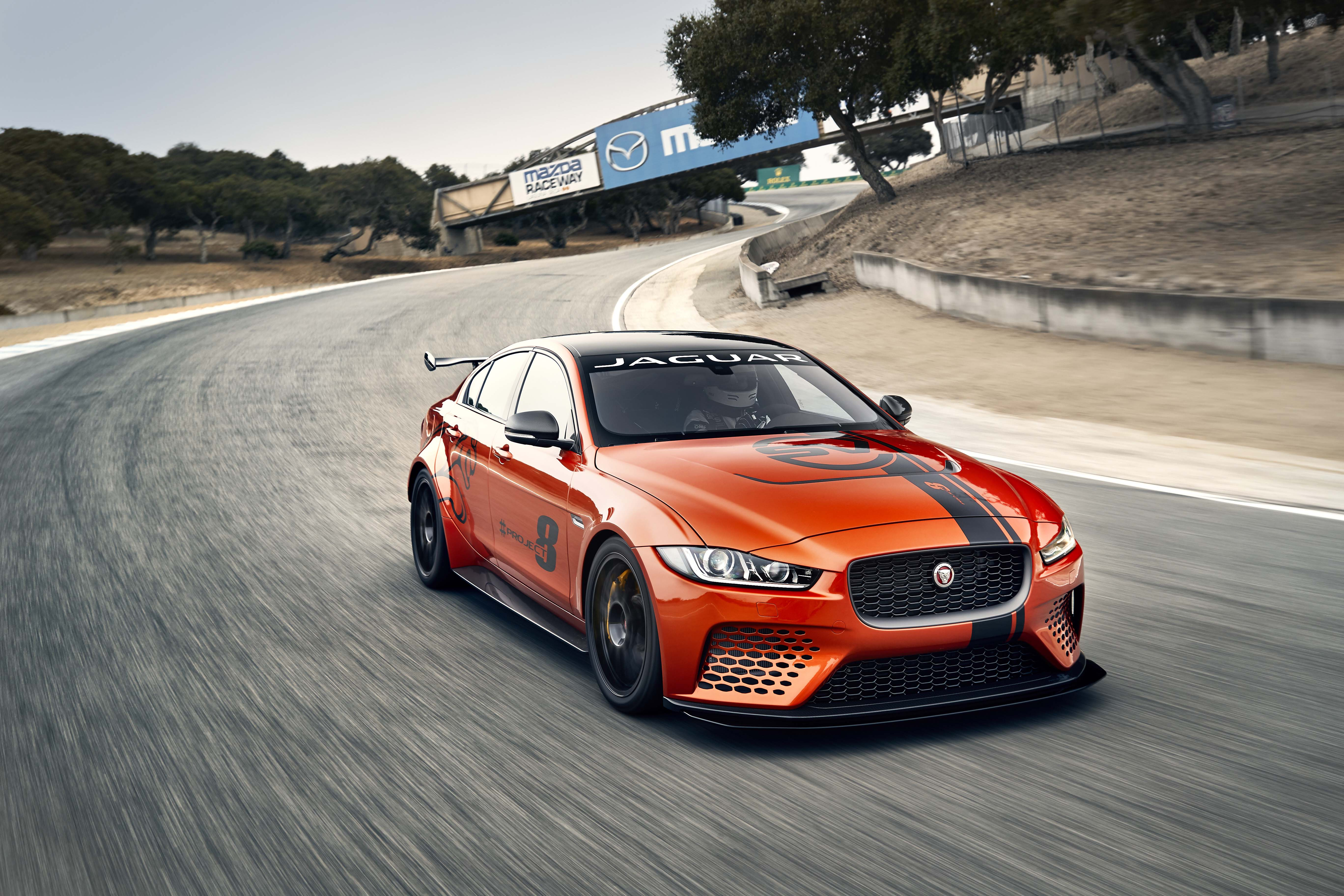 Jaguar Xe Sv Project 8 Jaguar Xe Sv Project 8 Track Video Automotive Rhythms