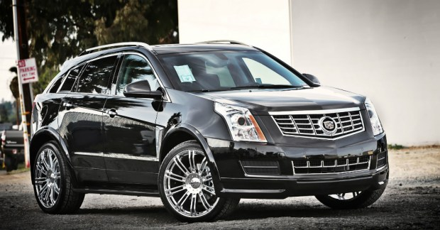2015 Cadillac SRX with Wheels