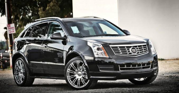 2015 Cadillac SRX with Wheels
