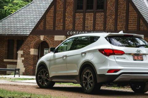 Get in the Hyundai Santa Fe and Take a Ride