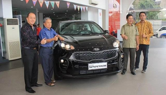 Kia Sportage Generasi ke 4 dan Grand Sedona Sapa Warga Bandung
