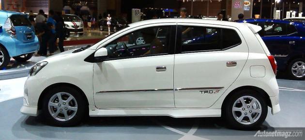 Toyota Agya 2013 di IIMS