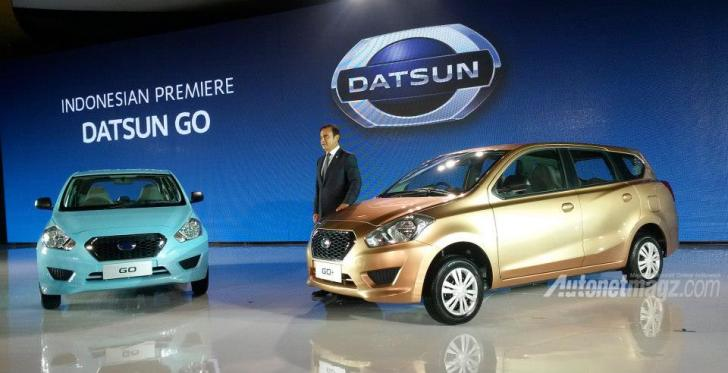 Datsun, Datsun GO  Indonesia MPV 7 Seater: Datsun GO+ : MPV Datsun Dengan Harga Super Murah!