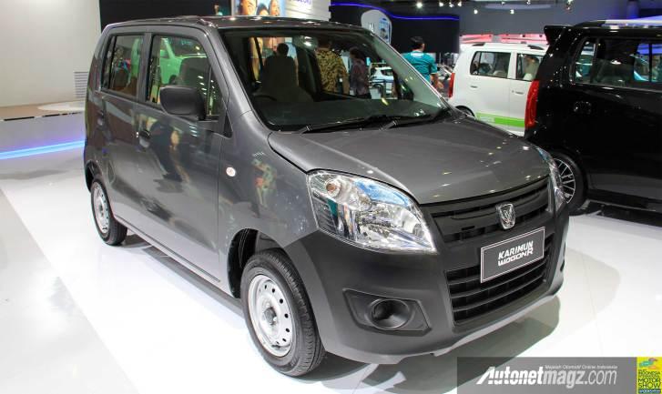 IIMS 2013, LCGC Suzuki Karimun Wagon R Tipe GA: Suzuki Karimun Wagon R Diluncurkan Dalam 3 Tipe