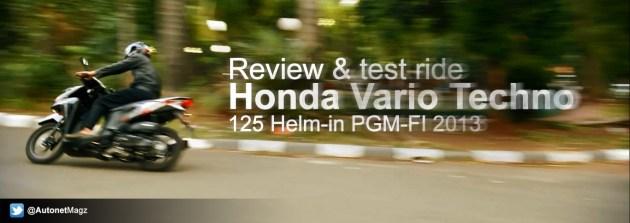 Review test Honda Vario Techno 125 2013