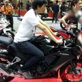 Bangkok Motorshow, Honda CBR300R Riding Position: First Impression Review Honda CBR300R dari Bangkok Motorshow