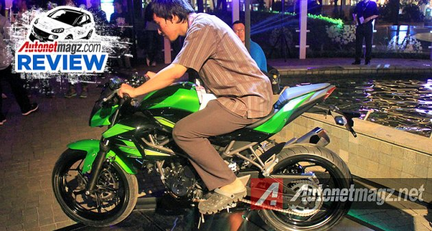 Ulasan review Kawasaki Z250 SL