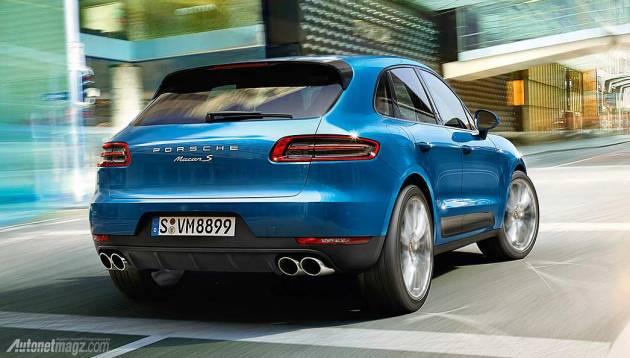 Launching Porsche Macan di Indonesia