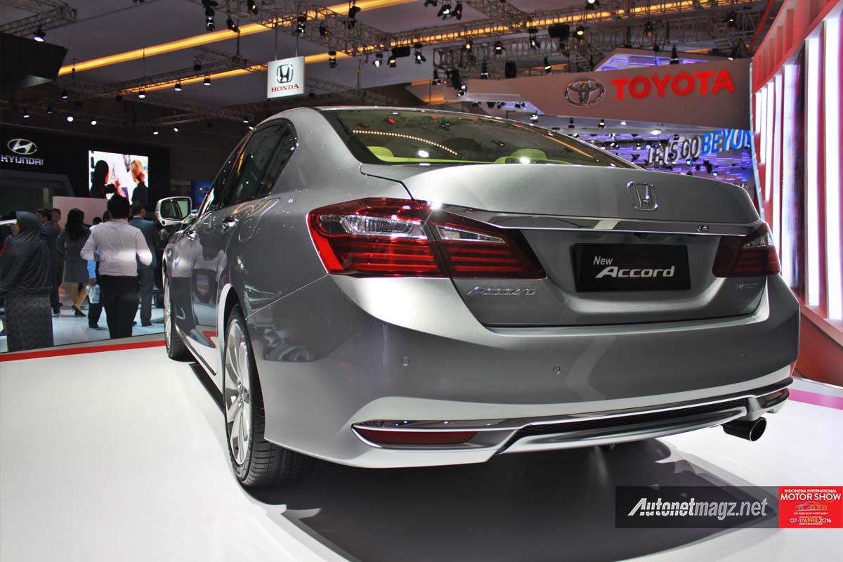 honda accord facelift indonesia iims 2016 rear