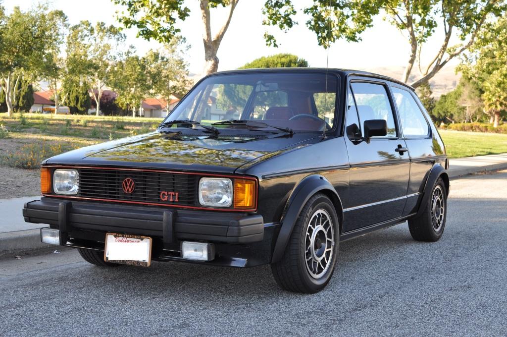 1983-1984 Volkswagen Rabbit GTI The Original Pocket Rocket Autopolis