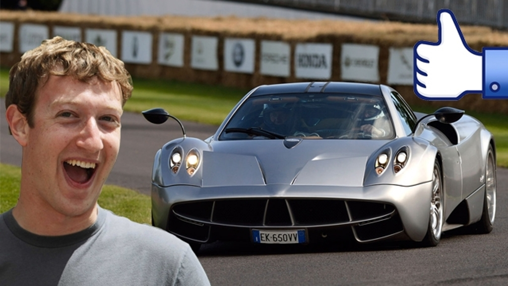 photo of Mark Zuckerberg Pagani Huayra - car