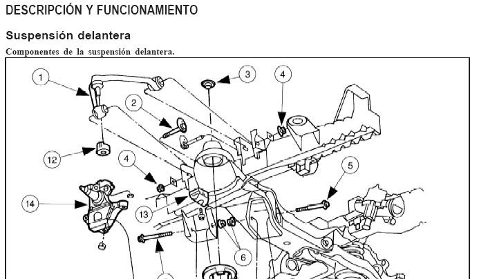 1979 ford f 150 5 0 Diagrama del motor
