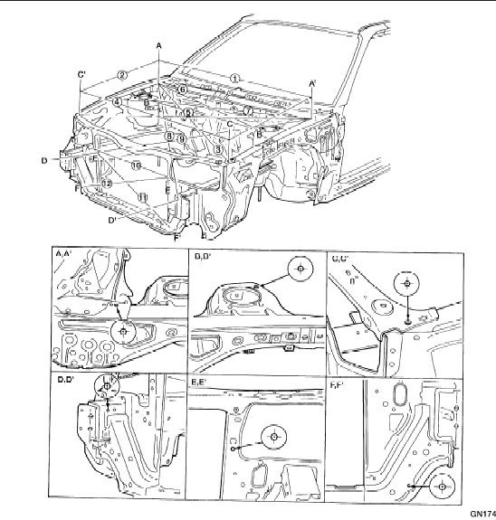 ford expedition Diagrama del motor