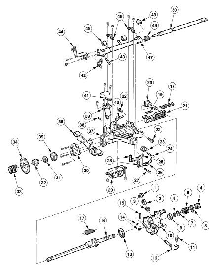 1998 ford explorer Diagrama del motor