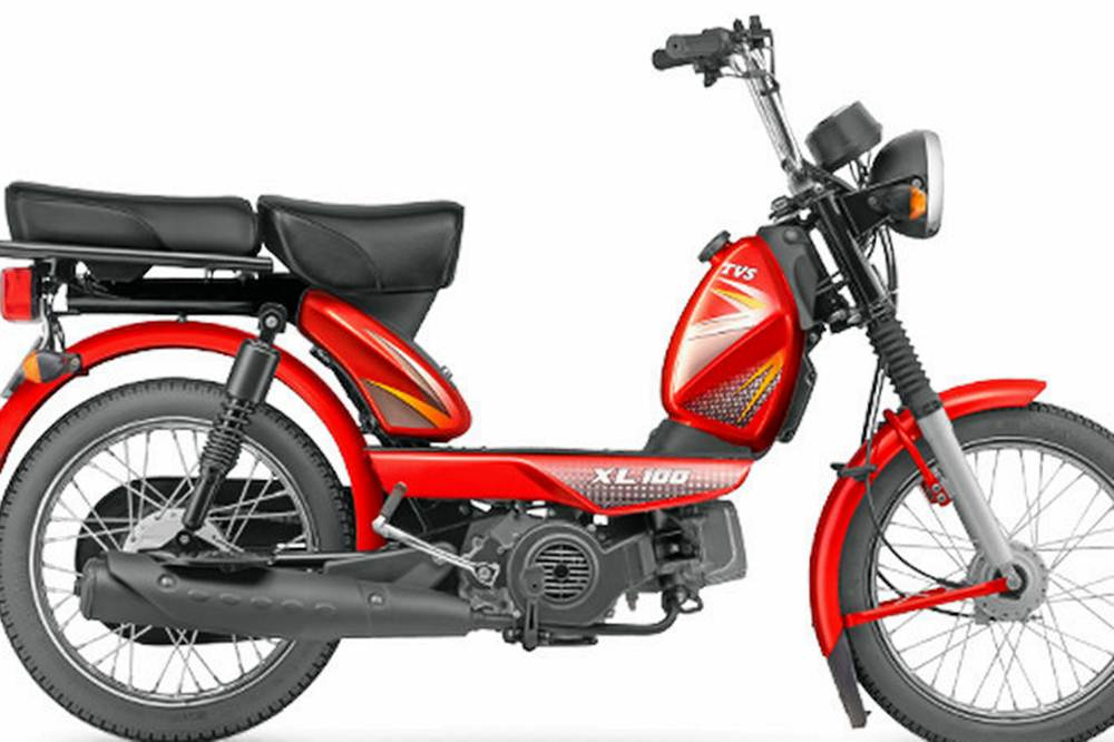TVS XL 100 Scooter Specification