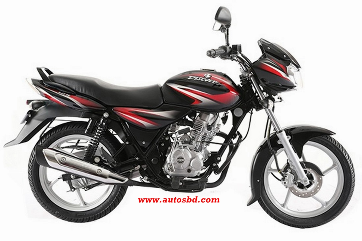 Bajaj Discover 125 Disc Motorcycle Specification