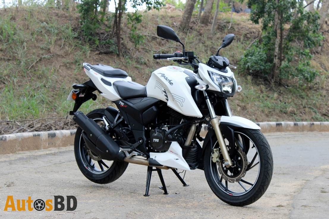 TVS Apache RTR 200 Pirelli Motorcycle Specification