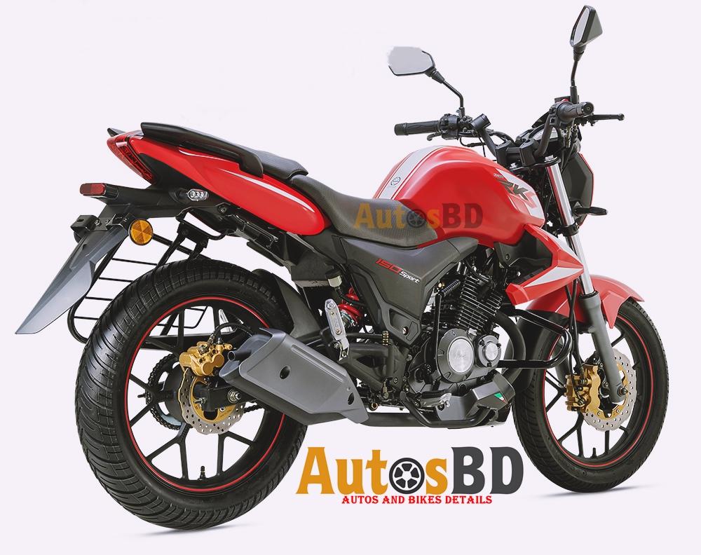Keeway RKS 150 Sports CBS Motorcycle Specification