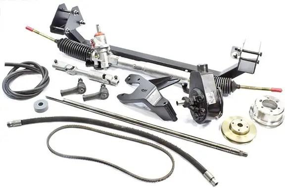 power steering rack rebuild