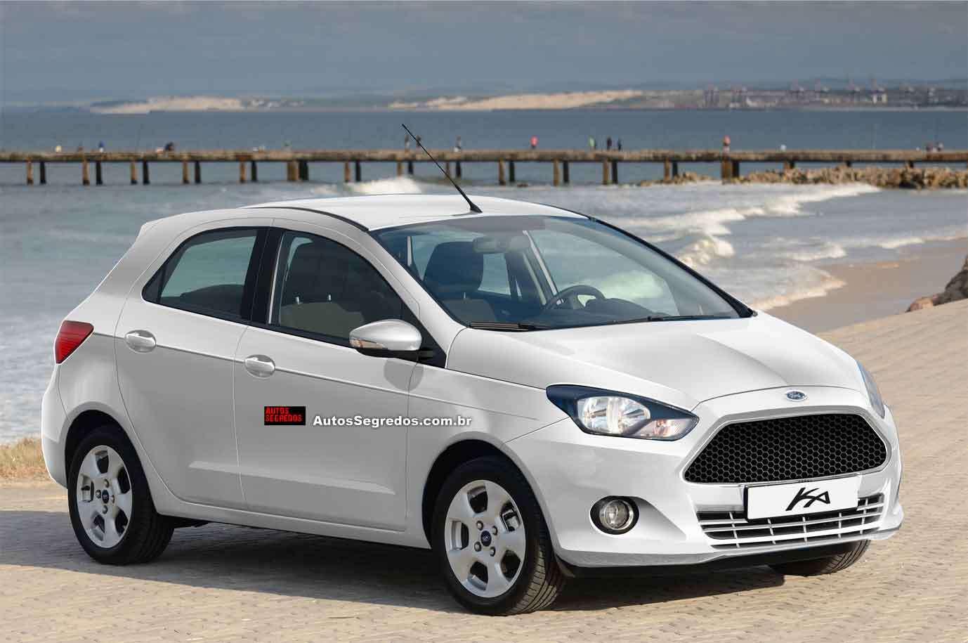 Este é o novo Ford Ka para 2014, que também contará com um inédito ...