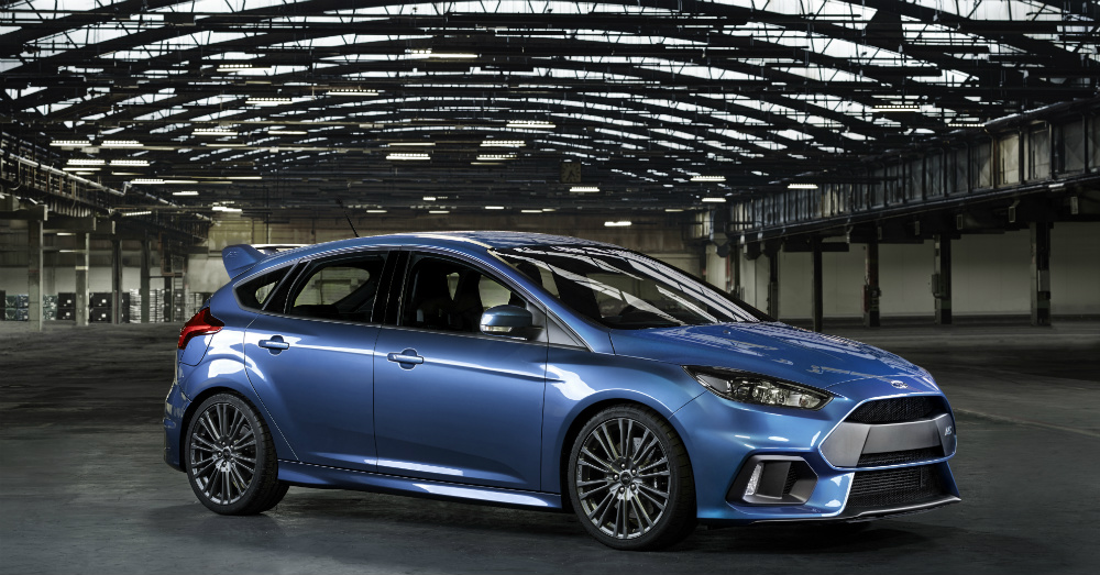 2016 Blue Ford Focus RS